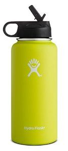 40 oz Amazon.com : Hydro Flask Vacuum Insulated Stainless Steel Water Bottle, Wide Mouth w/Straw Lid : Sports & Outdoors