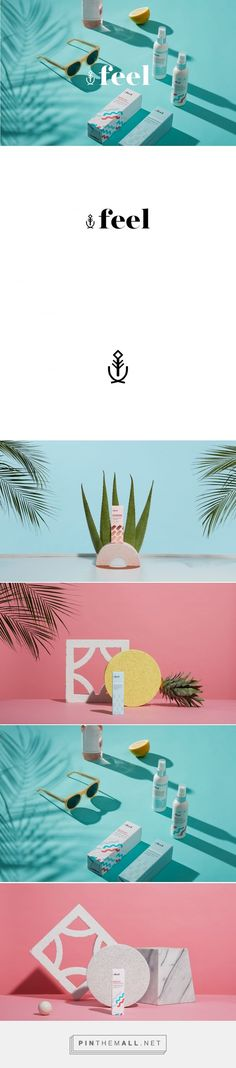 Feel Skin Care Packaging by Arithmetic | Fivestar Branding Agency – Design and Branding Agency & Curated Inspiration Gallery
