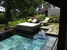 Four Seasons Resort Mauritius at Anahita Photo: Our plunge pool.