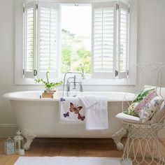 Relax in a spa room | Country bathrooms ideas | housetohome.co.uk