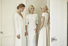 Picture Of minimalist elegance of dresses by charlotte simpson bridal 2