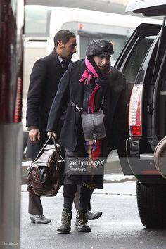 5 december 2010 John Galliano Sighting At Roissy Airport