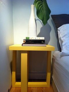 Free Woodworking Plans to Build a Cross Frame Side Table