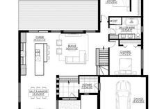 Modern House Design Whether you are searching for a single-storey or double-storey design, you will be certain to locate your perfect home amongst our great Bungalow, Best Investments, Architect Design, Modern House Design, Architecture, House Plans, Garage, Floor Plans, How To Plan