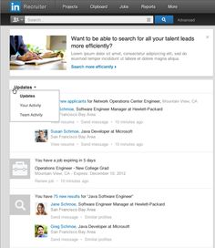 Recruiter: The Most Important LinkedIn Page You've Never Seen