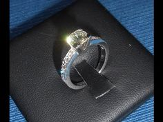 The Process of Making a Hand Made Engagement Ring and Wedding Ring Set - YouTube