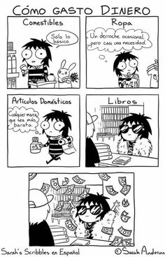 A fan page featuring comics, illustrations, and other related content from Sarah Andersen. I Love Books, Books To Read, My Books, Book Memes, Book Quotes, Reading Slump, Reading Meme, Reading Books, Sarah's Scribbles