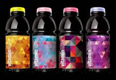 Limited Edition Vitamin Water for music festivals/events