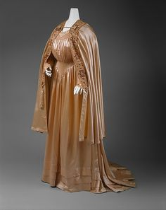 """Ensemble:"" Design House: Liberty & Co. (British, founded London, 1875) Date: ca. 1905 Culture: British Medium: silk, cotton, metallic thread,"