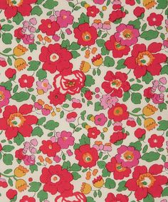 Liberty Art Fabrics Betsy S Tana Lawn Cotton | Fabric | Liberty.co.uk