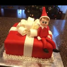 Elf On the Shelf Cake - - Yahoo Image Search Results