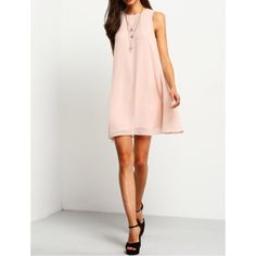 For Sale: Pink Sleeveless Dress for $11