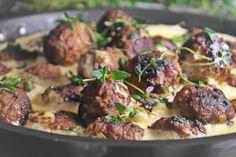 Saaranlautasella: Parhaasta lihasta tulee parhaat pullat ja lisäksi ... Chicken, Meat, Ethnic Recipes, Kai