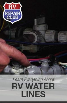 Learn about the different RV water lines found in your unit see how this will help you troubleshoot any future issues! Rv Camping Checklist, Rv Camping Tips, Travel Trailer Camping, Camping Items, Camping Products, Camping Essentials, Family Camping, Outdoor Camping, Camper Repair