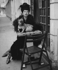 Isabella Blow, 1991. Photo: Steven Meisel.