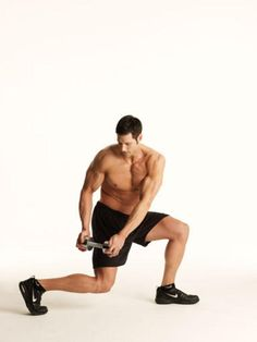 Reverse Lunge and Swing Exercise | Men's Health