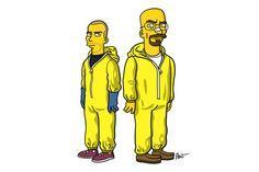 Breakin Bad goes Simpsons