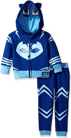PJ MASKS Big Boys' Catboy Hoodie and Jogger Set: Cute LS Catboy Hoodie w Mask and Jegging; cute design, soft, absorbent, and durable Boys Hoodies, Boys T Shirts, Cool Halloween Costumes, Halloween 2019, Build A Bear Outfits, Military Costumes, Ankara Blouse, Toy Cars For Kids, Boys Online