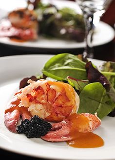 Butter Poached Lobster with Sauce Aurore (Gives AWESOME directions on how to get the lobster out of the shell too!!!)