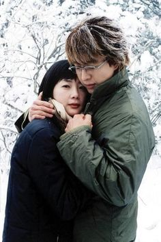 Endless Love II: Winter Sonata or simply known as Winter Sonata is a 20 episode South Korean drama series broadcast in KBS as the second installment of Endless Love drama series directed by Yoon Suk-ho in The drama depicts the story of a. Bae Yong Joon, Endless Love Drama, Park Yong Ha, Korean Drama Series, Drama Free, Winter Love, Korean Couple, Korean Star, Movies