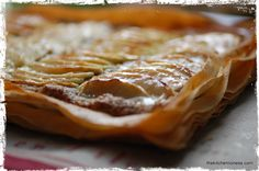 The Kitchen Lioness: French Fridays with Dorie - Crispy, Cracky Apple-Almond Tart