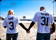 Jersey Save the Date Idea. Great way for a sporty couple to create save-the-date cards. Cute Wedding Ideas, Perfect Wedding, Our Wedding, Dream Wedding, Wedding Stuff, Wedding Inspiration, Engagement Inspiration, Wedding Wear, Wedding Themes