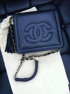 Chanel  Love the blue