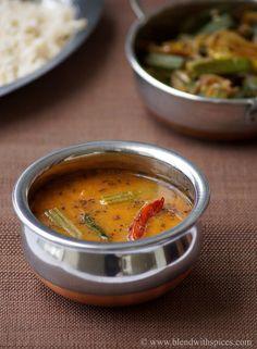 Munakkada Pesarapappu Sambar Recipe ~ Drumstick Sambar with Moong Dal | Indian Cuisine