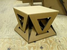 furniture diy 26 DIY Cardboard Furniture Ideas That Are Surprisingly Practical Cardboard Chair, Diy Cardboard Furniture, Cardboard Design, Paper Furniture, Cardboard Sculpture, Cardboard Crafts, Unique Furniture, Furniture Ideas, Coaster Furniture