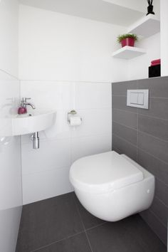 Space Saving Toilet Design for Small Bathroom - Home to Z Space Saving Toilet, Small Toilet Room, Steam Showers Bathroom, Bathroom Toilets, Toilet Closet, Toilet Tiles, Walking Closet, Toilet Accessories, Downstairs Toilet