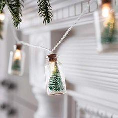 Christmas Fairy Lights, Mini Christmas Tree, Outdoor Christmas, Xmas Tree, All Things Christmas, Christmas Crafts, Christmas Ornaments, Xmas Lights, Merry Christmas