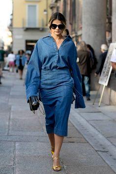 - Street style Milan