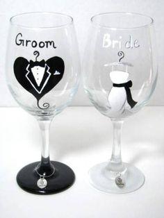 Copas para el momento del brindis | Blog de bodas y novias. Detalles de bodas