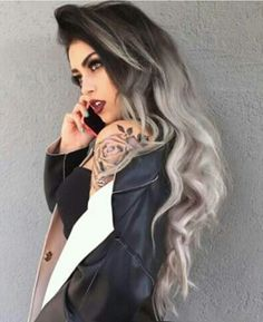 Like the hair color