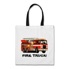 Fire Truck Party Bag from TruckStore #firetrucks #kids #trucks