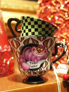 LOVE ♥    $19.95    Alice in Wonderland Tea Cup Ornament