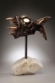Sculpture Brutalfish