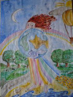 Aquarelle sur papier dessin