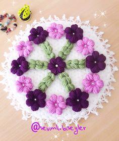 Crochet Carpet, Crochet Necklace, Crochet Patterns, Crochet Accessories, Craft, Hand Embroidery, Flowers, Crochet Rugs, Crochet Pattern