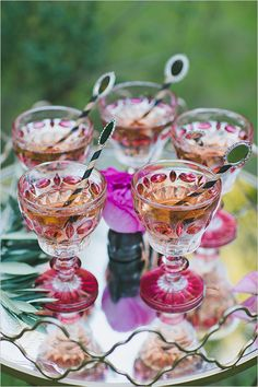 / Pin curated by Pretty Planner Weddings & Events www.prettyplannerweddings.com / pink wedding cocktails @weddingchicks