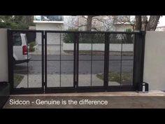 The Sidturn: turning sliding gate - Brighton, Melbourne - YouTube