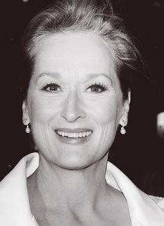 The stunning Meryl Streep.                                                                                                                                                                                 More