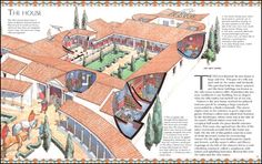 Book House - History - Spectacular Visual Guides - Roman Villa