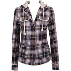 Agent Ninetynine Shearling Check Jacket