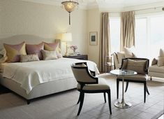 how to fill up large bedrooms