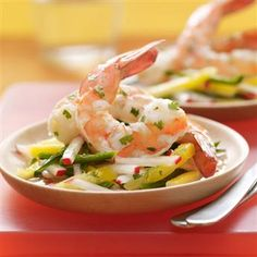 CHILLED MARINATED SHRIMP - I remember having an appetizer dish at a buffet served at a celebration get together with friends. The dish was on my plate for an appetizer as well as my entrée. Wonderful fresh flavors, citrusy and tangy. Served simply with lemon wedges.  Get this recipe by clicking on the link below: http://ow.ly/Rsc1301po1X