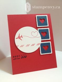 Sent With Love by stampenvy - Cards and Paper Crafts at Splitcoaststampers