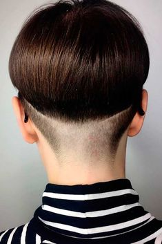 If you have decided to do an undercut hairstyle and make your look creative and outstanding, see our collection of 33 best ideas and read about  styling and care! #haircuts #shorthaircuts #undercut