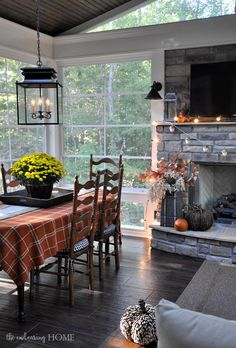 Fall 2015 Porch Tour - The Endearing Home