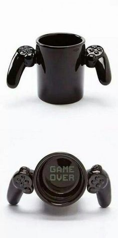 For the gamer boyfriend! That would be perfect if I ever get a gamer boyfriend. I'm also a gamer so that would be a plus Cool Mugs, Mug Cup, Gifts For Him, Gifts For Gamers, Gamer Gifts, Diy Gifts, Coffee Cups, Drink Coffee, Tea Pots